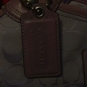 Coach Bags - Auth: Purple Coach purse